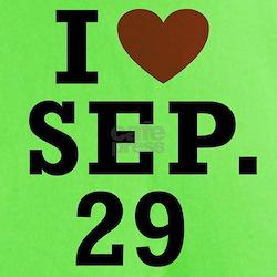 I Heart September 29 T-Shirt