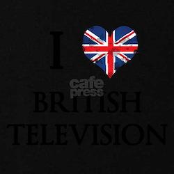 I Love British Television Maternity T-Shirt