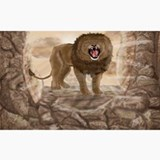 RoaringLion_pillow_case Ceramic Travel Mug
