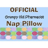 official grumpy old pharmacist nap pill Mug