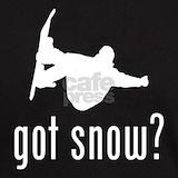 Snowboarding t shirt T-shirts