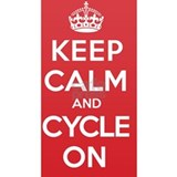 Keep Calm Cycle Water Bottle