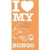 I LOVE MY BONGO (ORANG Water Bottle