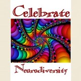 Celebrate neurodiversity T-shirts