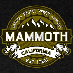 Mammoth Olive T-Shirt