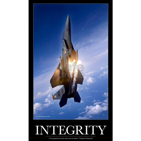 Military Motivational Poster: Integrity Dog Tags by ADMIN ...