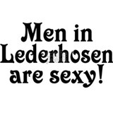 Men in Lederhosen are Sexy Small Mug