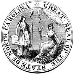 North Carolina State Seal Tee