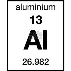 Periodic Table Aluminum Coasters | Cork, Puzzle & Tile ...