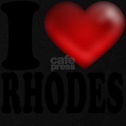 I Heart Rhodes T-Shirt