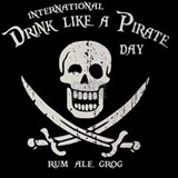 drink-pirate-TIL Drinking Glass