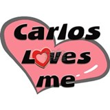 carlos loves me  Small Mug