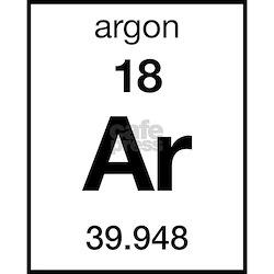 Periodic Table Argon Coasters   Cork, Puzzle & Tile Coasters ...