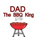 DAD. THE BBQ KING Sports Bottle