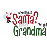 who needs Santa? Ive got Grandma Mug