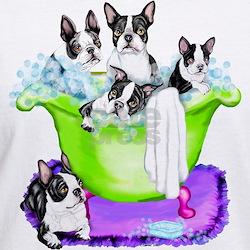 Boston Terrier TubFull Shirt