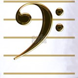 Bass clef Polos