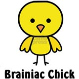 Brainiac Chick Mug