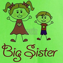 Big Sister with Little Brother T-Shirt