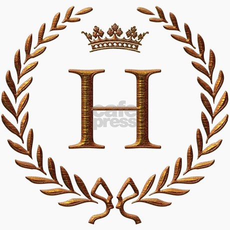 Letter H In Different Styles Napoleon Initial