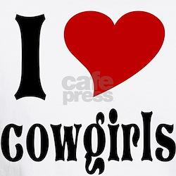 I Love Cowgirls Shirt