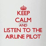 Keep Calm and Listen to the Airline Pilot Drinking