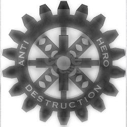 Antihero Destruction Ash Grey T-Shirt