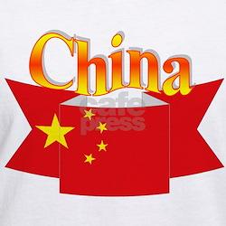 China flag ribbon Shirt