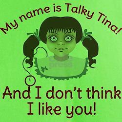 Twilight Zone Talky Tina T-Shirt
