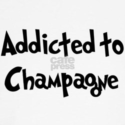 Addicted to Champagne Tee