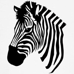 zebra head tee jpg color BrownWhite amp height 250 amp width 250 amp padToSquare    Zebra Head Coloring Pages