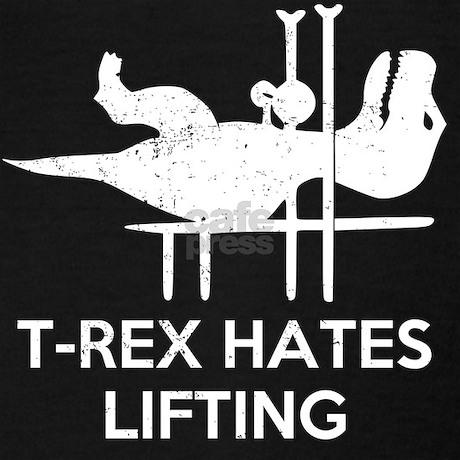 t_rex_hates_lifting_racerback_tank_top.jpg?color=Black ...