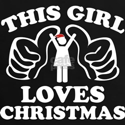 This Girl Loves Christmas Tee