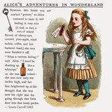 Alice in Wonderlan Drink Me Shot Glass