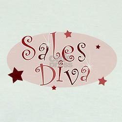 """Sales Diva"" [red] T"