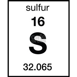 sulfur postcards package of 8 jpg height 250 amp width 250 amp padToSquare    Element Sulfur Periodic Table