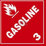 ADR Sticker - 3 Gasoline Shot Glass
