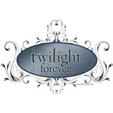 Twilight Forever Logo 2 Water Bottle