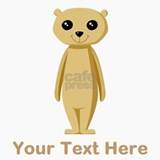 Meerkat with Text. Travel Mug