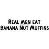 Men eat Banana Nut Muffins Mug
