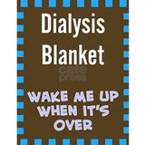 Dialysis Blanket 1 Water Bottle