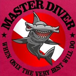 Master Diver (Hammerhead) Maternity Tank Top