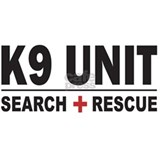 K9 Unit Search Rescue Sticker Mug
