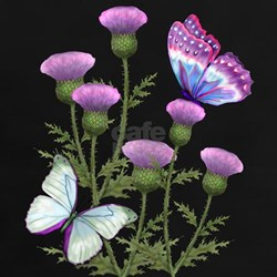 Thistles and Butterflies Tee