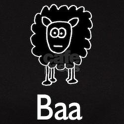 The Sheep made for dark shirt Tee