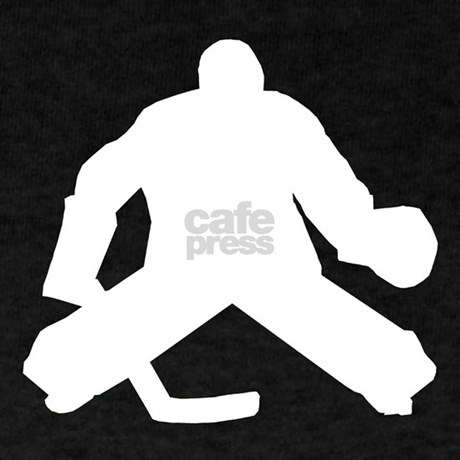 Hockey Goalie Goaler Silhouette Listed In Other Hockey Decals