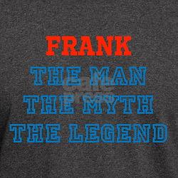 Personalized The Man Myth Legend T-Shirt