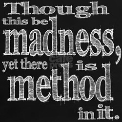 Method in Madness Shakespeare Tee
