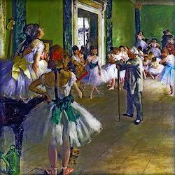 Degas - The Ballet C Long Sleeve Maternity T-Shirt