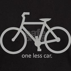 One less Car. T-Shirt